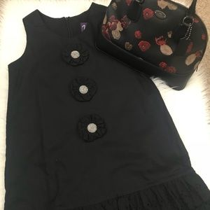 NWOT VAVA shift ruffled bottom dress